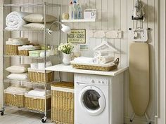 The Wonderful of Vintage Laundry Room Decor Ideas — D'Home Decoration Room Accessories, Home Organization, Laundry Mud Room, Interior, Home, Perfect Laundry Room, Laundry, Basement Laundry, Vintage Laundry Room