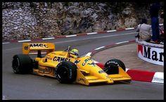 F1 Lotus 99T Senna - Monaco