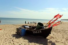 Fischerboote malen auf Rügen   Fischerboote am Strand von Baabe (c) Frank…