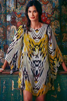 Sarita Swing Dress #anthropologie