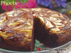 Keik me tyri krema Greek Sweets, Cake Bars, Cake With Cream Cheese, Greek Recipes, Coffee Cake, Cake Cookies, Cupcakes, Yummy Cakes, Banana Bread