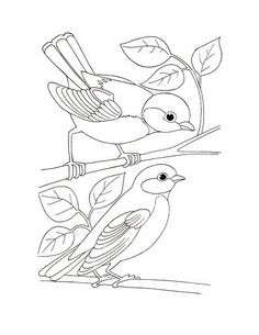 Bird Coloring Pages for Kids. 50 Free Printable Bird Coloring Pages for Kids. Aves Para Colorear E Imprimir Ideas for Your Inspiration Free Coloring Sheets, Coloring Pages To Print, Colouring Pages, Printable Coloring Pages, Adult Coloring Pages, Coloring Pages For Kids, Coloring Books, Simple Coloring Pages, Kids Coloring