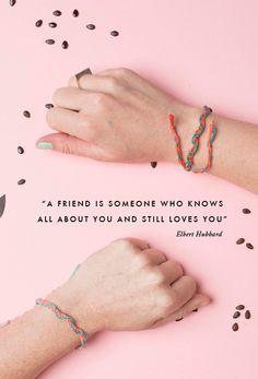 DIY watermelon friendship bracelet - The House That Lars Built