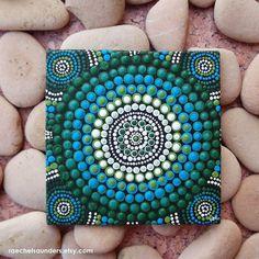 Aboriginal Art Dot Painting small Original by RaechelSaunders