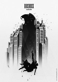 Poster alternativo para Bioshock Infinit #Game #design