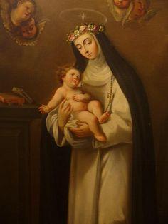 Rosa van Lima, Pray for us. Catholic Feast Days, Catholic Art, Catholic Saints, Roman Catholic, Religion Catolica, Holy Mary, Religious Icons, I Icon, Madonna