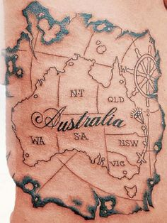Would you get a map tattoo?