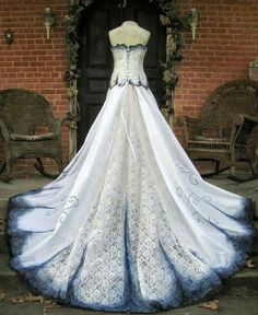 Dress on facebook Corpse Bride Tim Burton Wedding Ideas