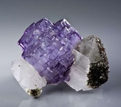 Fluorite, Yaogangxian Mine, Hunan Province, China, Small Cabinet, 8.8 x 7.3 x 5.8 cm, For sale from The Arkenstone, www.iRocks.com. For more details on this piece and others, visit http://www.irocks.com/minerals/specimen/7781