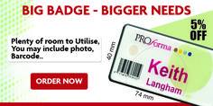 We Offer 5% Special Discount On Our Big Badges
