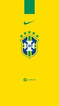 Seleção brasileira de Futebol Manchester Logo, Manchester United Wallpaper, Manchester United Legends, Neymar Football, Football Uniforms, Neymar Jr, Brazil Wallpaper, Nike Wallpaper, Real Madrid Logo