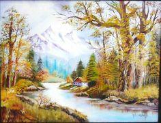 pintura al oleo paisajes...