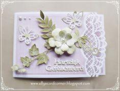 Elly's Card- Corner: Hartelijk gefeliciteerd....