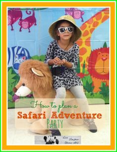 Safari Adventure kids party