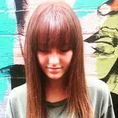 BANGS ON POINT • Love this super on trend style on the beautiful Ella! 💁🏼 Cut… @toniandguyau @toniandguyperth #WellaProANZ #WellaHair #labelmau #Short #Feminine #BlowDry  #Balayage  #Wavy #Waves #Natural #Bob #StraightHair #Hair #PerthHair #Hairdressing #Perth #WolfeLane #Laneway #Style #Ladies #HairStyle #Fashion #InstaHair  #PerthSalon #upstyle #braids