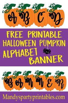Free Printable Pumpk