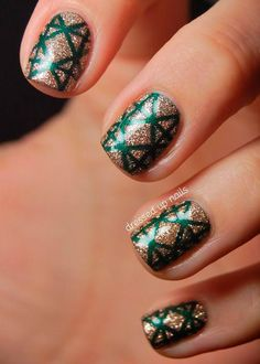 Some More Nail Art for This Christmas | Young Craze