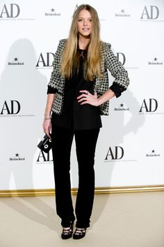 Laura Hayden at the AD Magazine gala