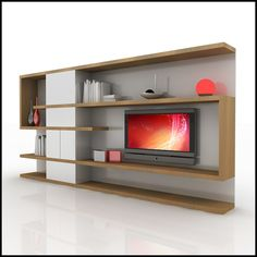 Modern Tv Wall Units new design wooden lcd tv wall unit designs 25# - buy tv wall unit