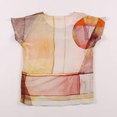 Vonsono -- Silk Tee, back view - Lightbox Print __ pointed out by pinsterers 5.oo h & LaJuana Oswalt