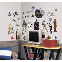 Star Wars Classic Peel & Stick Wall Decals - US/CAN/MEXICO