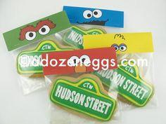 Hudson Street inspired by Sesame Street