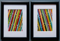 Paint Chip Art with Benjamin Moore Paint Chips Paint Sample Art, Paint Swatch Art, Paint Swatches, Paint Samples, Paint Chip Wall, Paint Chip Cards, Paint Chips, Diy Artwork, Diy Wall Art
