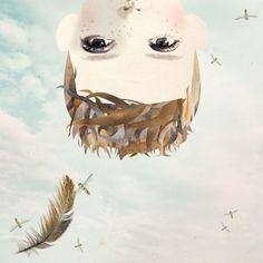 La niña del aire | El Bazar Dibujado