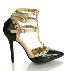 Style fits true to size. Great to wear with any club attire & to dress up your wardrobe. Measurements: stiletto heel is approximately 4.5 inches high. Type of closure: multi-adjustable buckles. Specia