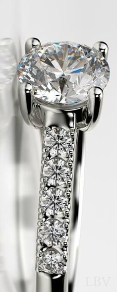 Luxury: Diamond Ring | LBV ♥✤