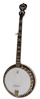 Deering Eagle II 5-String Banjo with Tapered Resonator Sidewalls