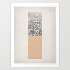 Oblong Art Print by David Fleck | Society6