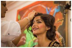 Behind the scenes of Sonam Kapoor Filmfare shoot