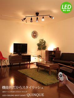 Spots, Led Ceiling, Living Room Inspiration, Flat Screen, Lighting, House, Interiors, Home Decor, Blood Plasma