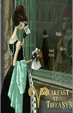 Aries as a classic movie.....Breakfast at Tiffanys!