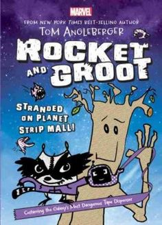 Stranded on a planet filled with dry cleaners, nail salons, and chain restaurants Rocket and Groot face killer robots bent on customer service and raccoon eating toilets.