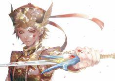Tag: Fanart, guerreiros da dinastia, Pixiv, Hakuseki, guerreiros Orochi, pedido do caráter, Lu Xun, Fanart de Pixiv