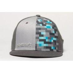 Official JINX Minecraft - Diamond Crafting - Premium Snap Back Cap Minecraft Hat, Minecraft Outfits, Minecraft Stuff, Minecraft Teddy, Minecraft Clothes, Minecraft Gifts, Swag Outfits, Kids Outfits, Snap Backs