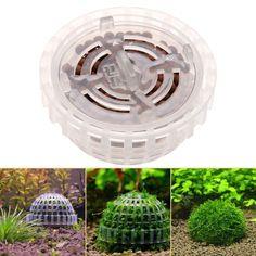 5cm Plastic Aquarium Fish Tank Media Moss Ball Filter Decor For DIY Live Plant A #Undisclosed