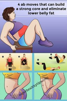 4 Ab Exercises That Can Build a Strong Core And Eliminate Lower Belly Fat