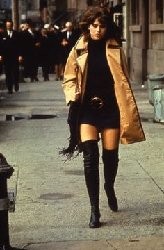 That rocking wardrobe they put Jane Fonda in for the 1971 film Klute. The movie was all filmed in Manhattan NYC (including the studio shooting which was done in a studio in Harlem)