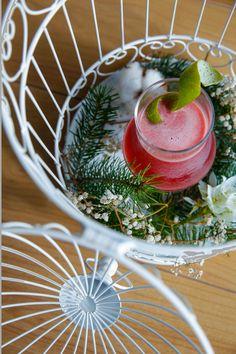 Nitrila é um dos cocktails escolhido para a mesa de Natal. Entre outras coisas, leva Amarguinha e Ginja D'Óbidos