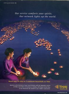 Air - Thai Airwais- Our Service Conforts Your Spirits. Our Network Lights Up The World_01
