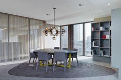 Egon Zehnder International Frankfurt, Frankfurt. A project by Ippolito Fleitz Group – Identity Architects, Floors.