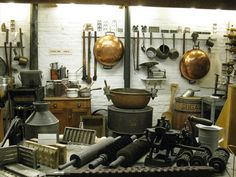 Antique Chocolate Molds and factory equipment