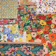 Liberty in Fashion exhibition. Original hand-painted designs  #Liberty #libertygram #libertyartfabrics