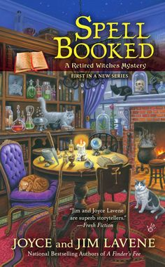 Mystery Lovers' Kitchen: A Yule Time Feast of Witches #SPELLBOOKED @author1954 #cozy #mystery