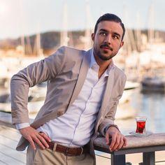 #hugoboss #turkishtea #montecarlo Turkish Tea, Monte Carlo, Drinking Tea, Hugo Boss, Blazer, Lifestyle, Jackets, Men, Instagram