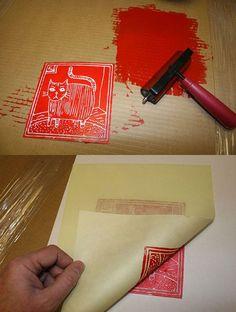 Naifandtastic:Decoración, craft, hecho a mano, restauracion muebles, casas pequeñas, boda: Tutorial: Como hacer un grabado casero