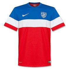 Camiseta de Estados Unidos 2014-2015 Visitante